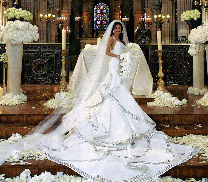 Dramatic Wedding Dresses…